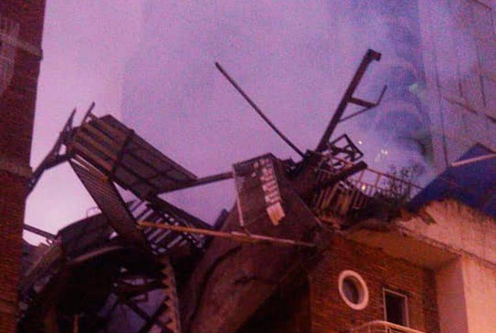 Incendio en edificio de Maripérez consumió dos pisos