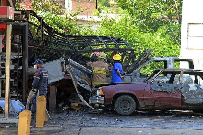 Al menos un muerto y seis heridos por explosión en estación de servicio en Anzoátegui