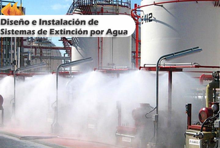 Diseño e Instalación de Sistemas contra Incendio a Base de Agua