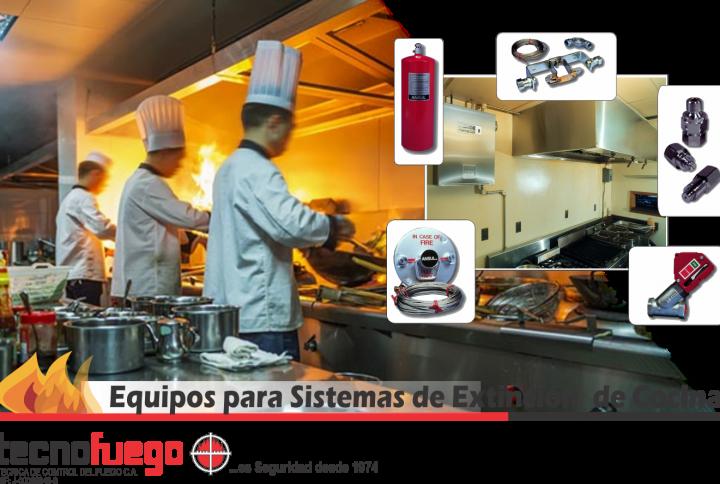 Equipos para Protección de Cocinas